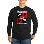 IKE Long Sleeve Dark T-Shirt