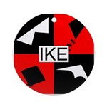 IKE Ornament (Round)