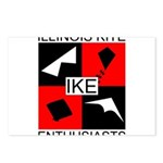 IKE Postcards (Package of 8)