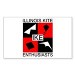 IKE Rectangular Sticker