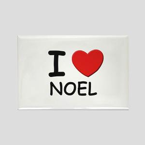 I love noel Rectangle Magnet