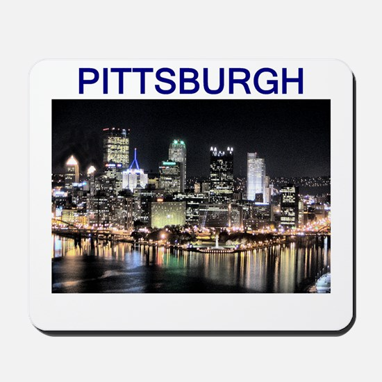 pittsburgh gifts and tee-shir Mousepad
