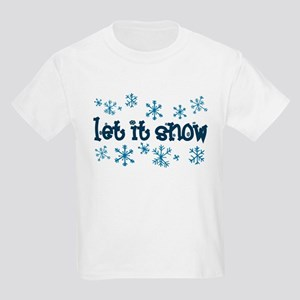 Let it Snow Kids T-Shirt
