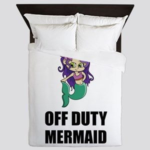 Off Duty Mermaid Queen Duvet