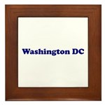 Washington DC Framed Tile