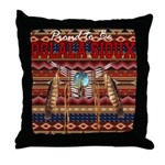 Proud to be Oglala Sioux Throw Pillow