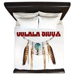 Proud to be Oglala Sioux King Duvet