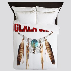 Proud to be Oglala Sioux Queen Duvet