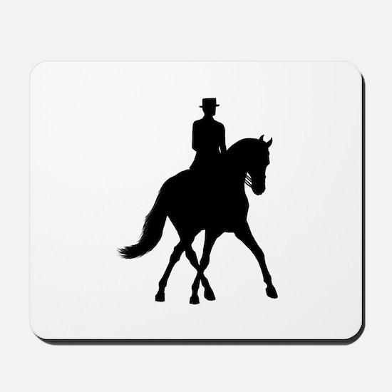 Half-pass Silhouette Mousepad