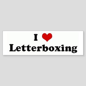 I Love Letterboxing Bumper Sticker