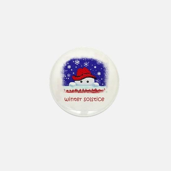 winter solstice Mini Button