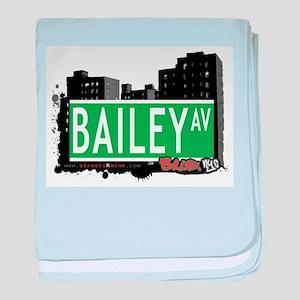 Bailey Ave baby blanket