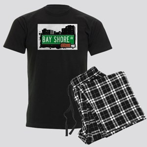 Bay Shore Ave Men's Dark Pajamas