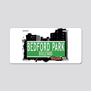 Bedford Park Blvd Aluminum License Plate