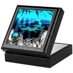 Blue Mermaid Keepsake Box