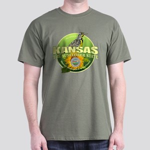 Kansas State Bird & Flower T-Shirt