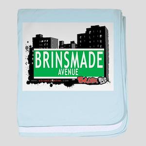 Brinsmade Ave baby blanket