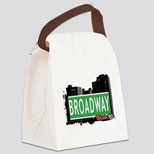 Broadway Canvas Lunch Bag