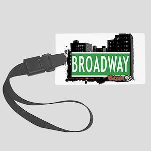 Broadway Large Luggage Tag