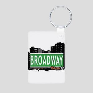 Broadway Aluminum Photo Keychain