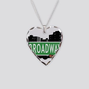 Broadway Necklace Heart Charm