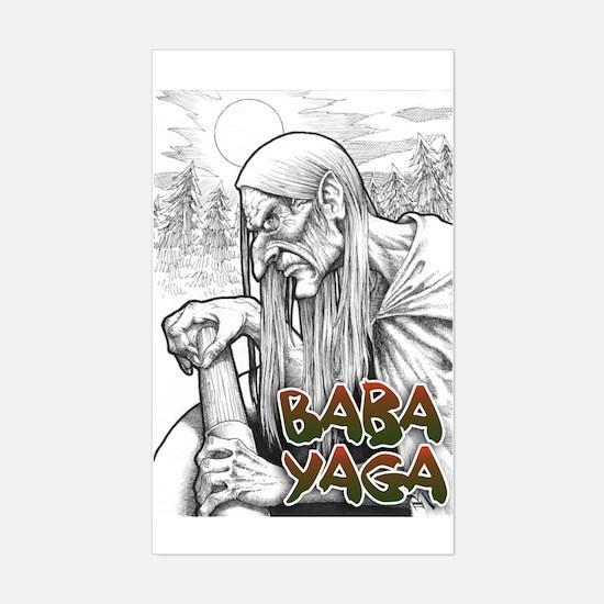 Baba Yaga sticker