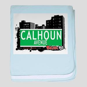 Calhoun Ave baby blanket
