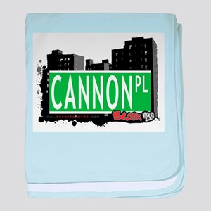 Cannon Pl baby blanket