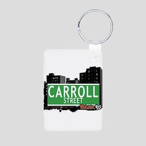 CARROLL ST Aluminum Photo Keychain