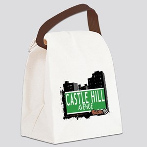 Castle Hill Ave Canvas Lunch Bag