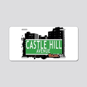 Castle Hill Ave Aluminum License Plate