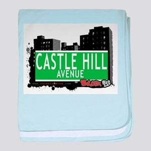 Castle Hill Ave baby blanket