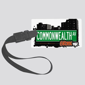 Commonwealth Ave Large Luggage Tag