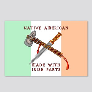 Native American/Irish Postcards (Package of 8)