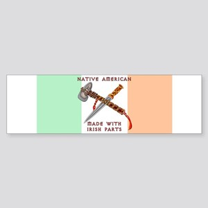 Native American/Irish Bumper Sticker