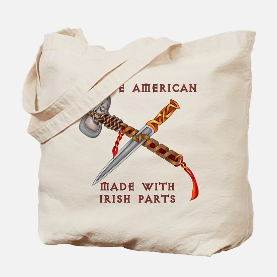 Native American/Irish Tote Bag