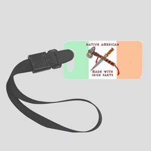 Native American/Irish Luggage Tag