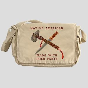 Native American/Irish Messenger Bag