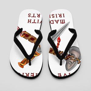 Native American/Irish Flip Flops