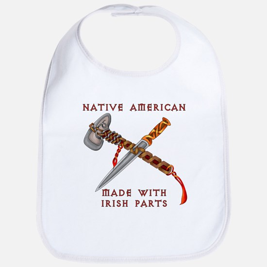 Native American/Irish Bib