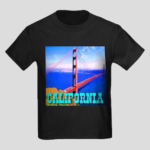 California Golden Gate Bridge Ash Grey T-Shirt