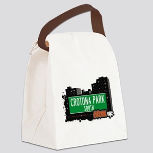 Crotona Park South Canvas Lunch Bag