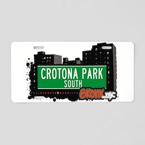 Crotona Park South Aluminum License Plate
