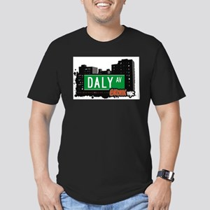 Daly Ave Men's Fitted T-Shirt (dark)