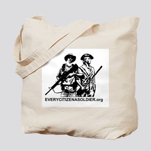 EVERYCITIZENASOLDIER.org Logo Tote Bag