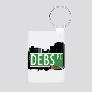 Debs Pl Ave Aluminum Photo Keychain