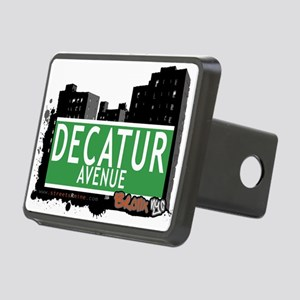 Decatur Ave Rectangular Hitch Cover