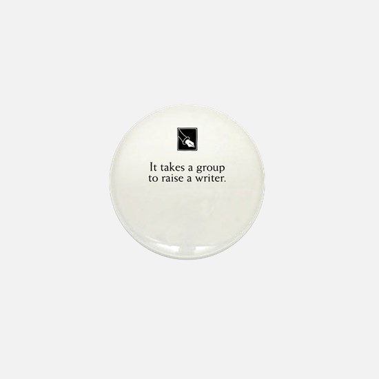 Writing Group Mini Button