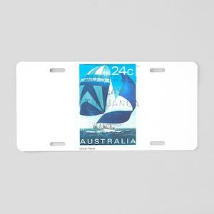 Sail Australia Aluminum License Plate