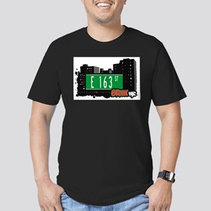 E 163 ST Men's Fitted T-Shirt (dark)